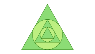 Circle and Triangles