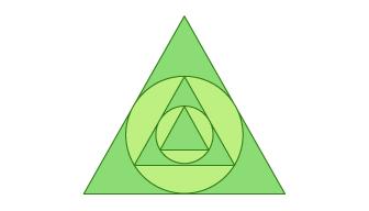 圆形和三角形