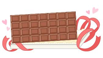 珍贵的巧克力